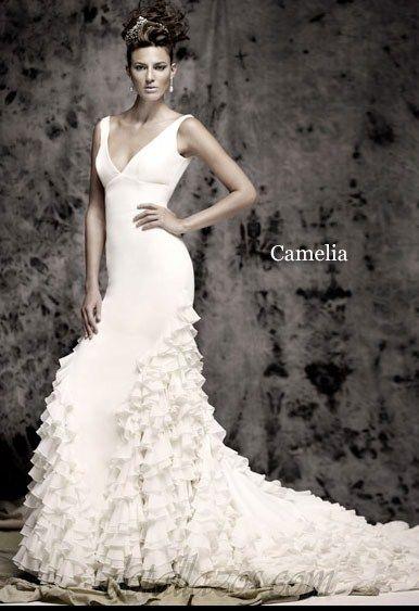 trajes de novias aire flamenco | Vestidos de novia flamenco ...