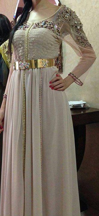 قفطان 2016 فيس بوك جديد قفطان جزائري قصير 2016 Moroccan Dress Moroccan Fashion Moroccan Caftan