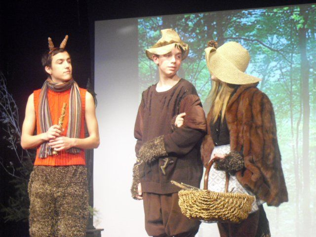 """""""The Lion, The Witch, and The Wardrobe"""" (Jan 2011) Costume and Makeup Design by Elias Garza, Cassidy Ream, and Sydney Courser"""