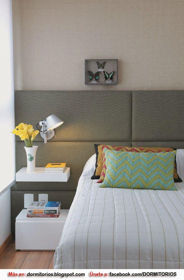 Cabecero de cama acolchado. 5 cabeceros de cama modernos ...