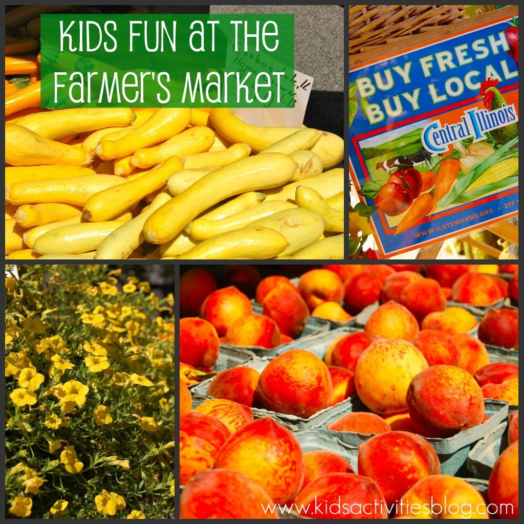 Farmers Market Fun For Kids And The Whole Family