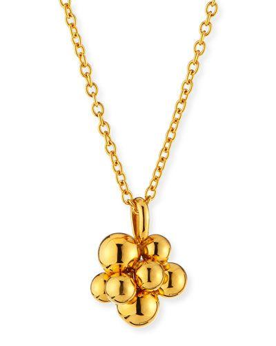 Marina B Mini Atomo 18K Gold Pendant Necklace TR3O5