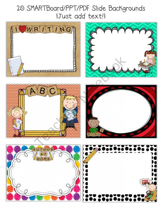Smartboard and powerpoint background templates writing theme smartboard and powerpoint background templates writing theme from rachael parlett on teachersnotebook toneelgroepblik Image collections