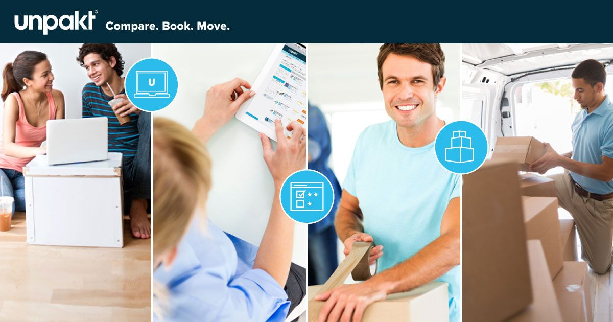 Unpakt let's you find the best moving companies, compare