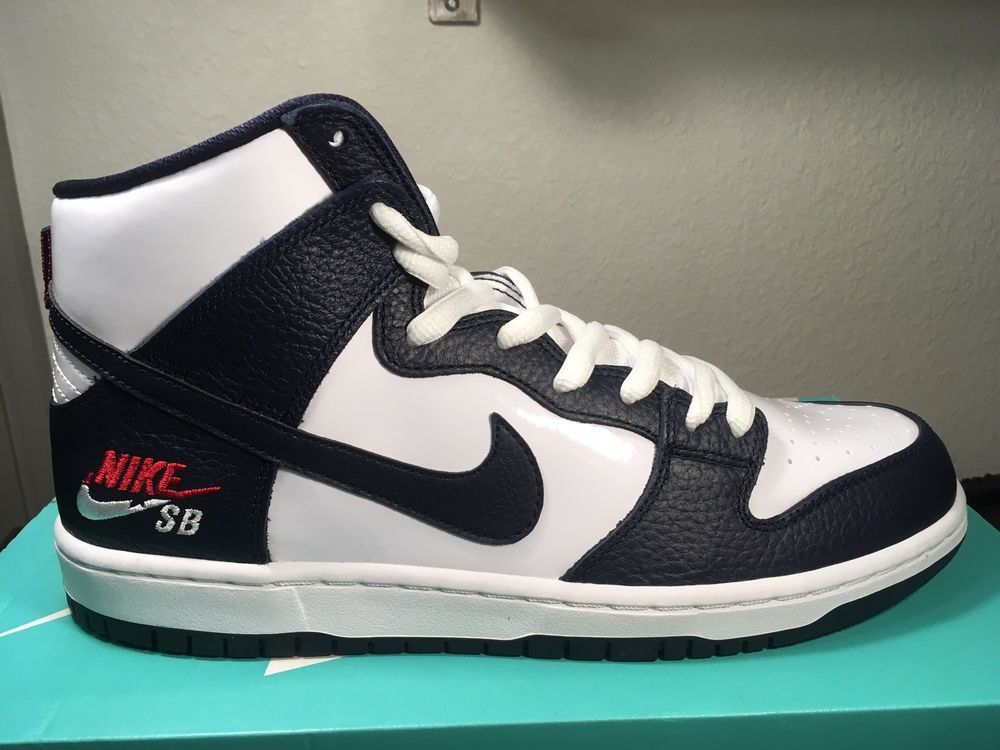 wholesale dealer b40e6 09c0d NIKE SB ZOOM DUNK HIGH PRO Men s Shoes Size 11 Obsidian  White 854851-441  New  fashion  clothing  shoes  accessories  mensshoes  athleticshoes (ebay  link)