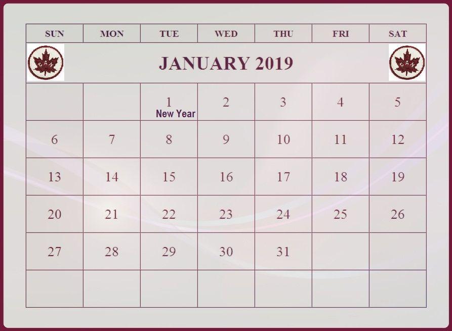 January 2019 International Holidays Canada | 101+ Free