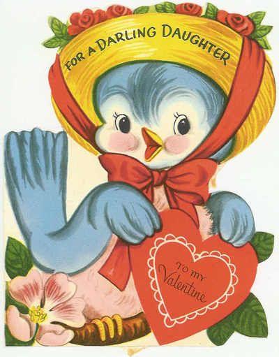 Happy Valentines Day Valentines Pinterest Vintage