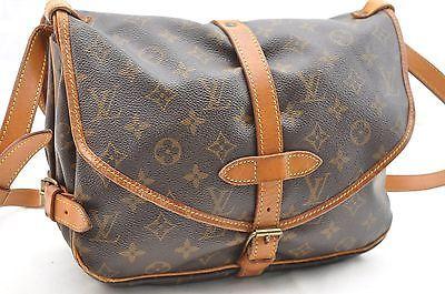Authentic Louis Vuitton Monogram Saumur 30 Shoulder Bag M42256 LV 26269 https://t.co/I2UlCz2gA8 https://t.co/ZwNlQANrAG