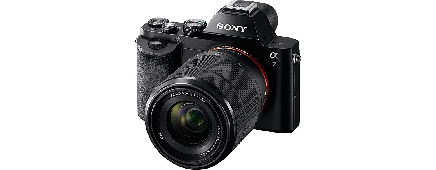 Sony ILCE7B Full Frame Compact System Camera Body: Amazon.co.uk ...