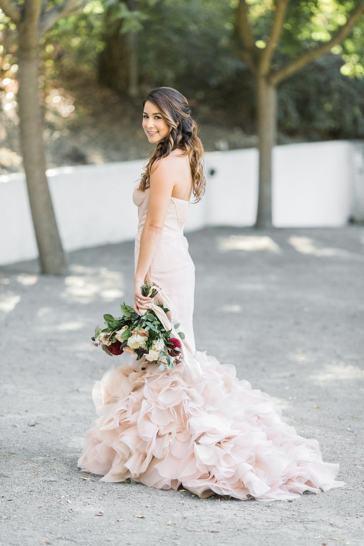 Tendance robe de mariée blush wedding dress as pretty