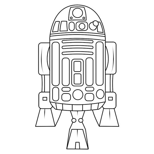 R2D2 drawing | Sleeve | Pinterest | R2d2 drawing