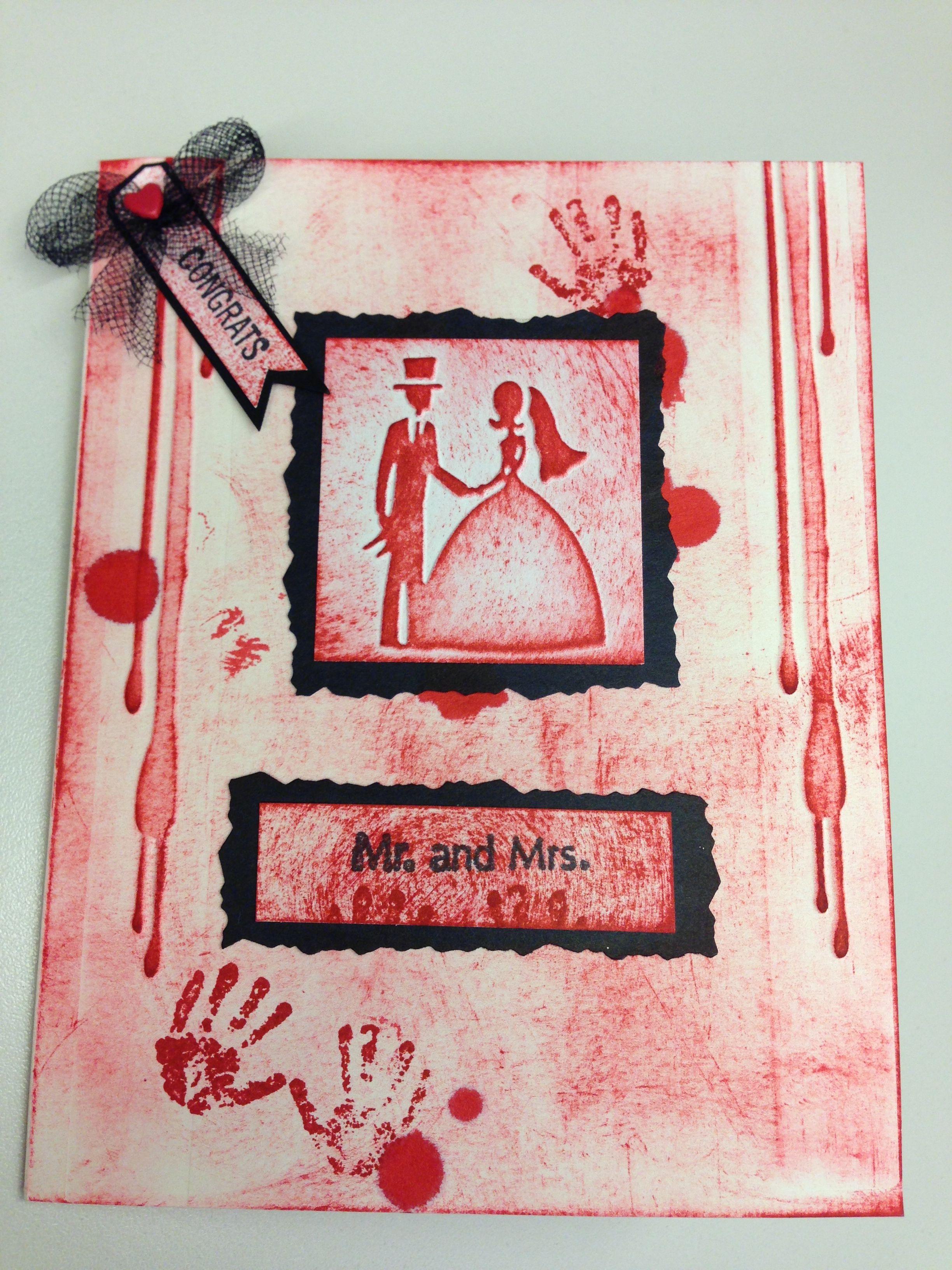 Wedding card 2 (Zombie Wedding) | Zombie wedding | Pinterest ...