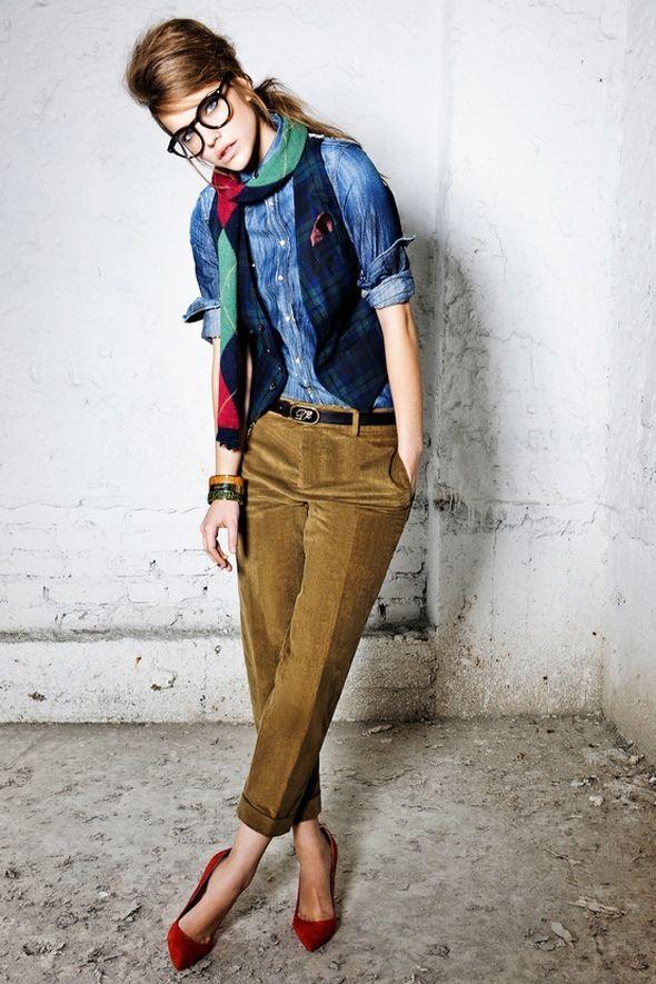 Poor Little It Girl's Fall Fashion Inspiration #okulary #moda  http://www.optykwnecie.pl/
