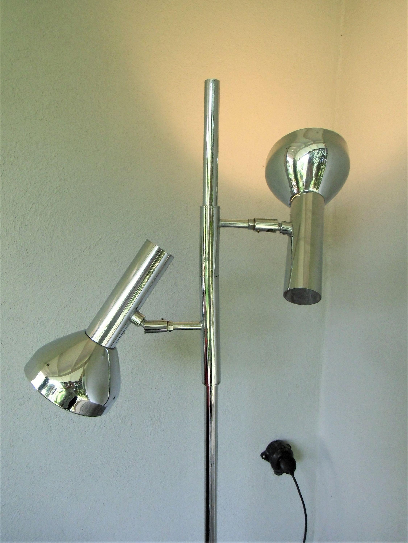 Stehlampe Aus Den 70er Jahren Von Cosack Chrom Stehlampe Space