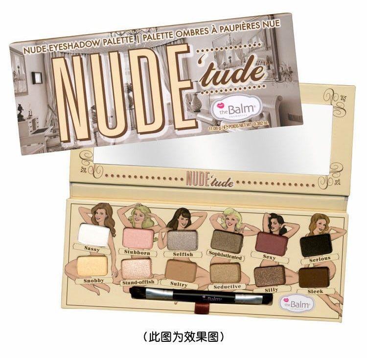TheBalm NUDE tude® Naughty Eyeshadow Palette | Simple.mu