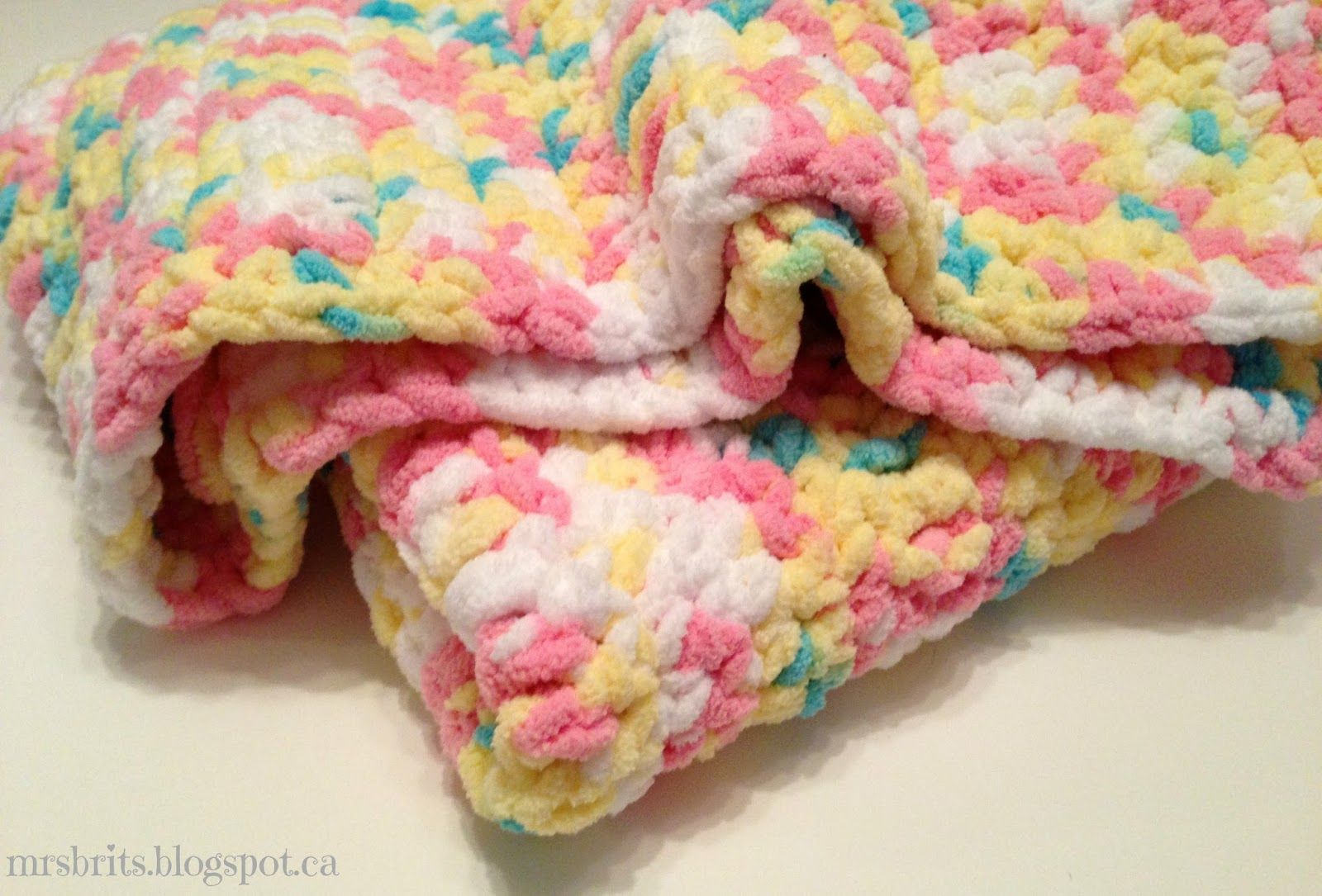 crochet a circle blanket with super bulky yarn Sweet and