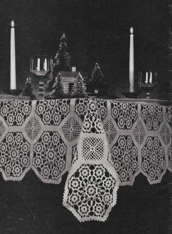 Crochet tablecloth pattern crochet tablecloth by thefoundbox crochet tablecloth pattern crochet tablecloth by thefoundbox bankloansurffo Gallery