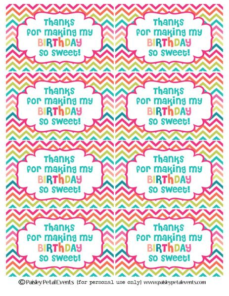 Free printable birthday tags stuff to buy pinterest birthday free printable birthday tags negle Image collections