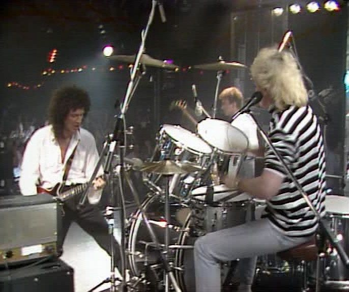 Roger Taylor From Queen Always Cool Always On A Cool Ludwig Kit