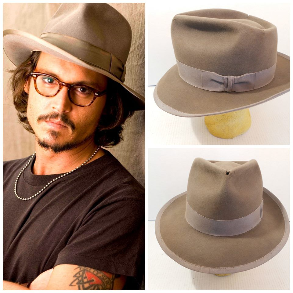 841d0435db5 Check out the custom reproduction we made inspired by the fedora Johnny  Depp wears. We