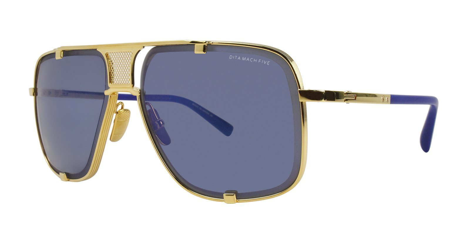 1b7ef78a8fa7 Dita - Mach Five Gold - Blue sunglasses