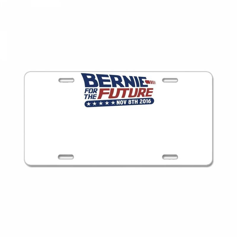 bernie for the future License Plate