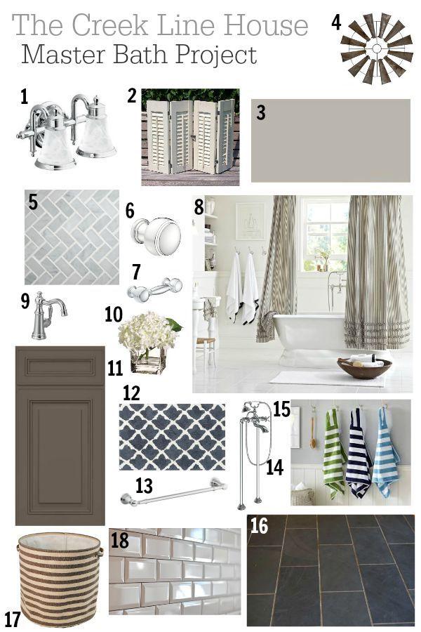 Website Photo Gallery Examples Master Bathroom Renovation Mood Board