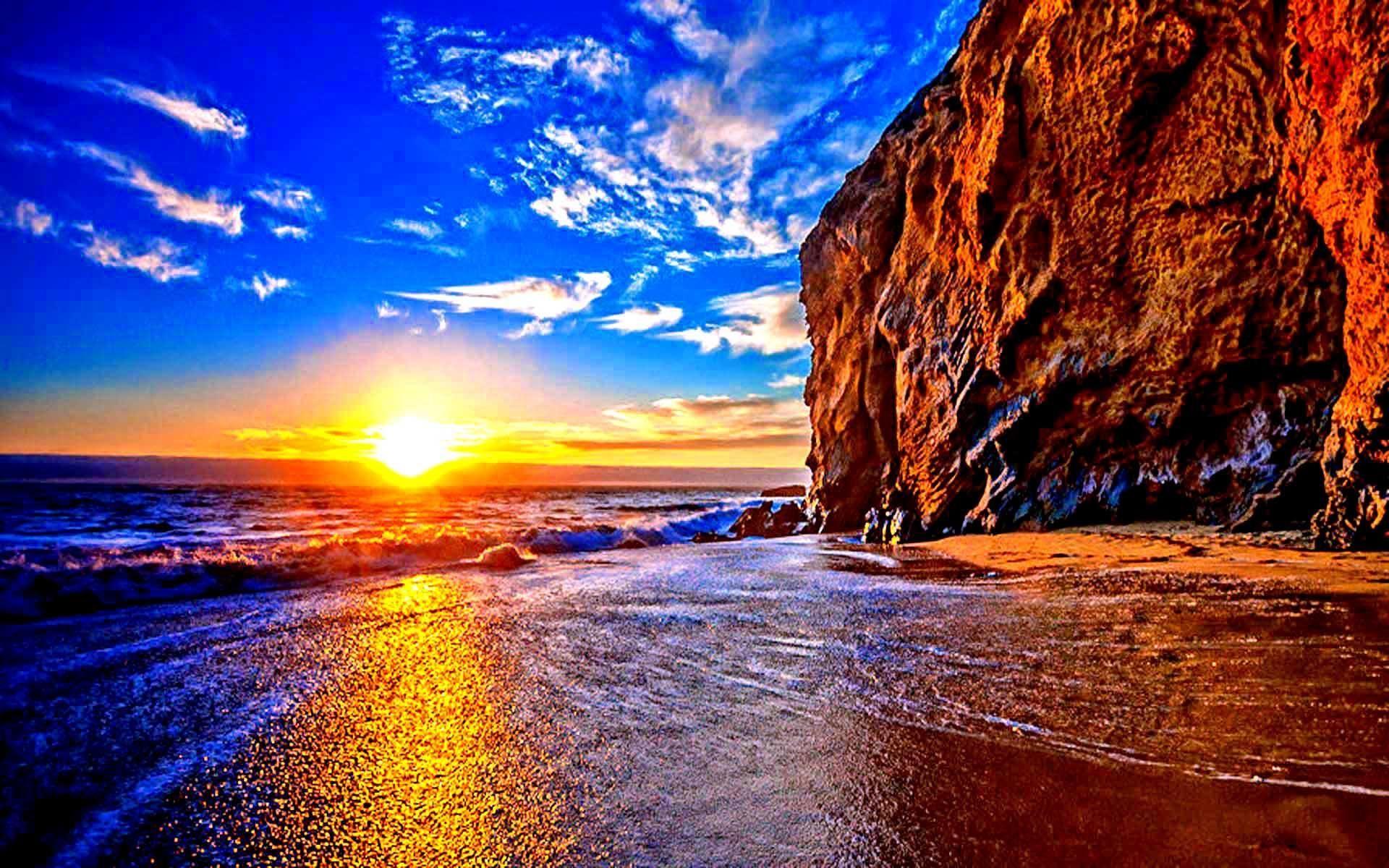 предлагаем фото морского заката в высоком качестве шошилиб