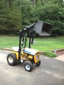 pin by billy timberlake on tractors pinterest tractor loader and tractor - Garden Tractor Loader