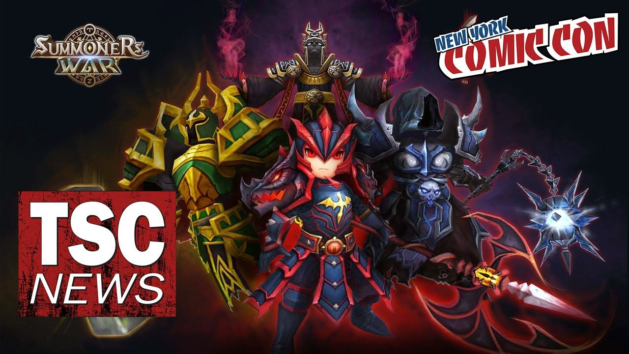 SummonersWar Game Taking ComicCon by Storm! NYCC