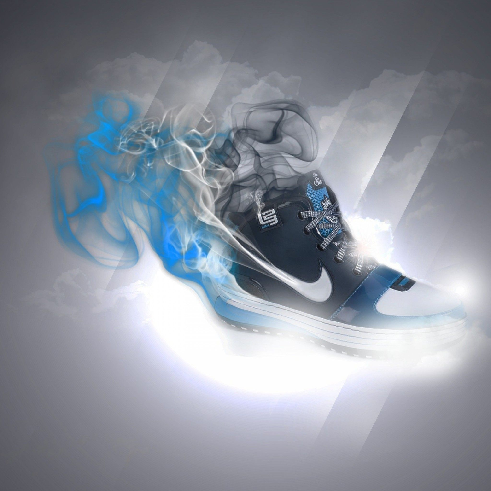 Nike Sneakers Apple iPhone 5s hd wallpapers available for free download.