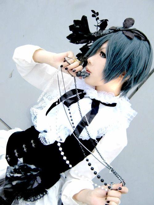 Kuroshitsuji | Ciel phantomhive cosplay, Maquillage ...