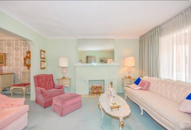 1950s Time Capsule Home For Sale | 1950s design, House beautiful and ...