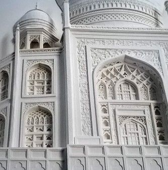 Sculpting Paper into Intricate Building Structures