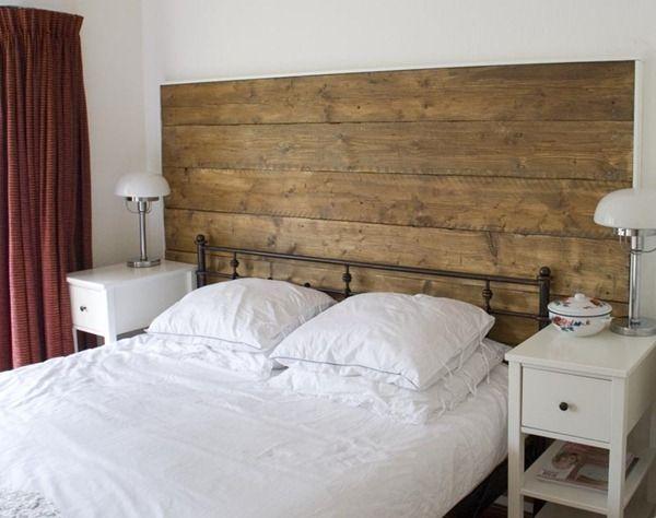 Headboard out of repurposed, upcycled wood Wood headboard, Barn