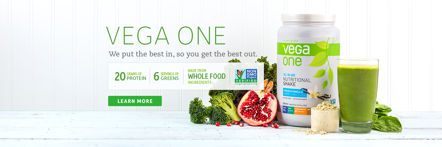 Vegan Protein Powder - Clean, plant based nutrition by Vega.