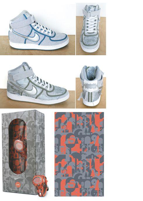 Geoff McFetridge x Nike Vandals