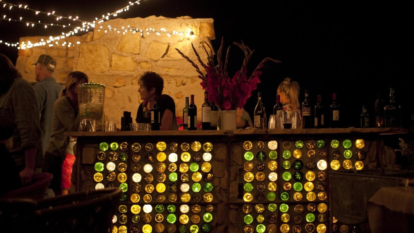 Last week, L.A. at Home shared the story of the Ruin and how owners Paul Goff and Tony Angelotti turned a falling-down stone house near Joshua Tree National Park into an enchanting outdoor room for parties under the stars.