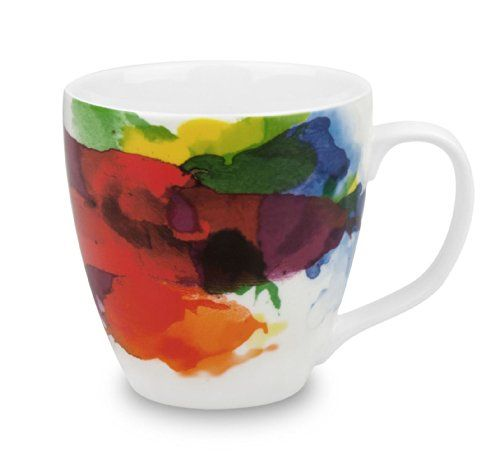 Konitz on Color Mugs Set of 4 >>> You can find more details by visiting the image link. (This is an affiliate link) #CupsMugsSaucers