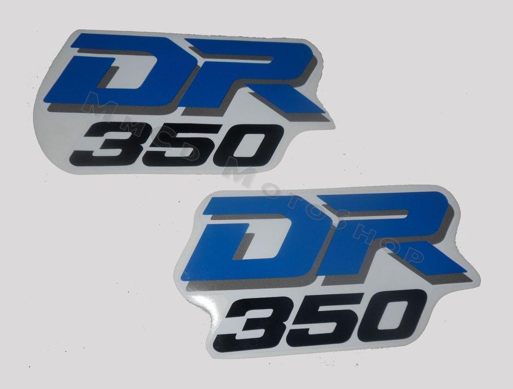 Suzuki dr 350 r s kit tank decals stickers graphics free shipping worldwide