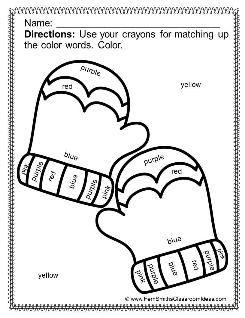 color by numbers winter know your colors color by code freebie kindergarten first grade. Black Bedroom Furniture Sets. Home Design Ideas