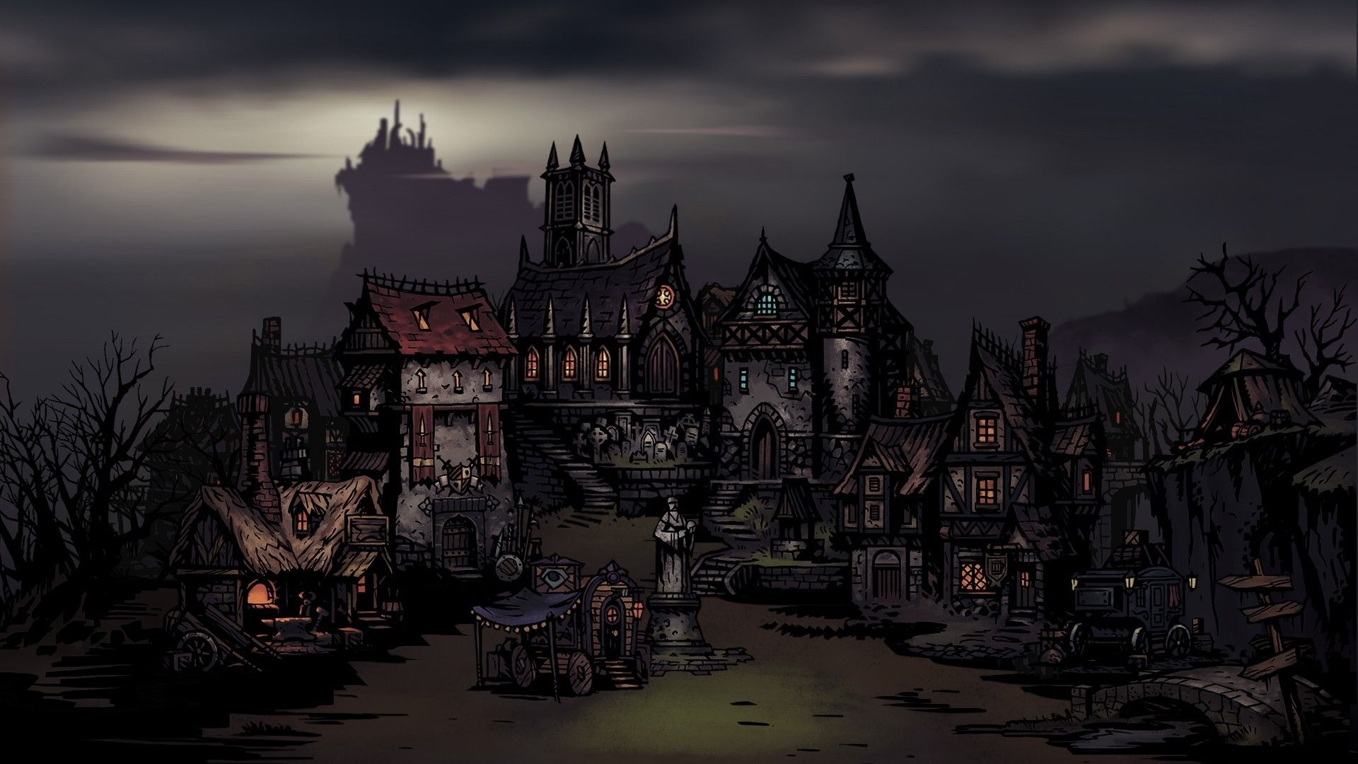 Resultado de imagem para darkest dungeon wallpaper