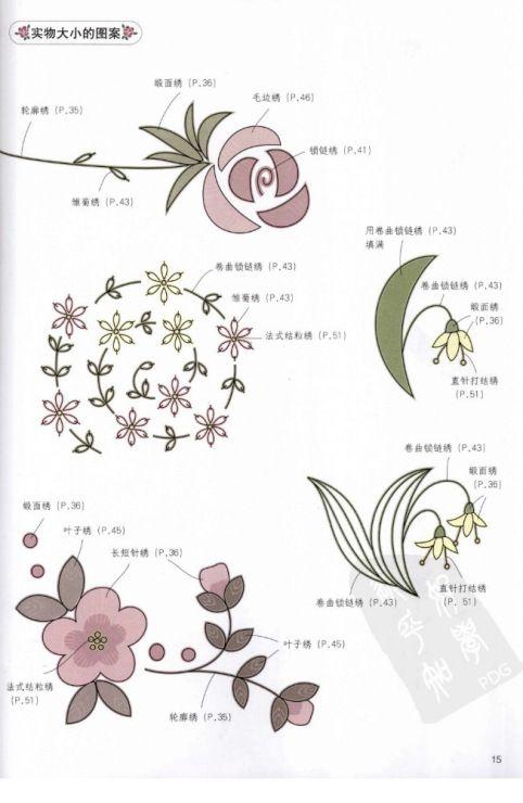 Gallery.ru / Фото #16 - Азбука вышивания: различные виды швов ...
