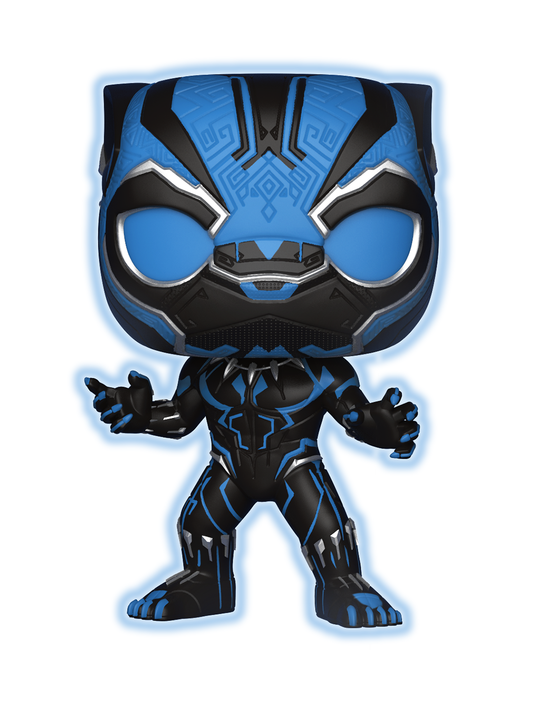 Vinyl Killmonger Panther Glow US Exclusive Pop Black Panther