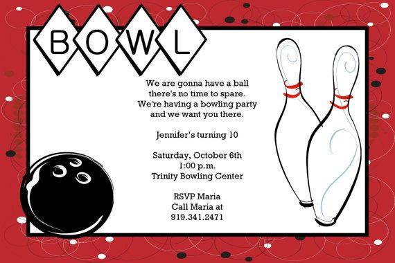 Bowling printable birthday party invitation certificate ideas pinterest birthday party for Bowling certificates