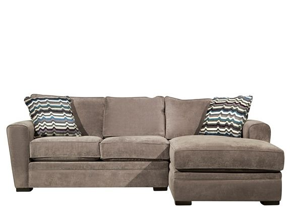 Artemis Ii 2 Pc Microfiber Sectional Sofa Sectional