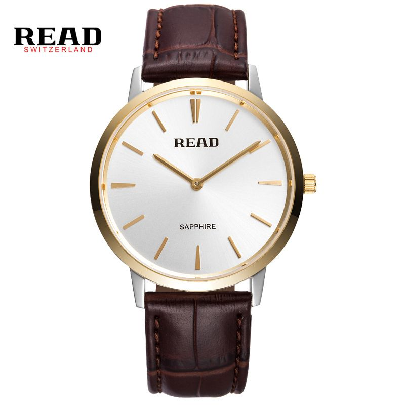 US $65.98 - 2016 New Brand Quartz Watch lovers Watches Women Men Dress Watches Leather Dress Wristwatches Fashion Casual Watches Gold PR53