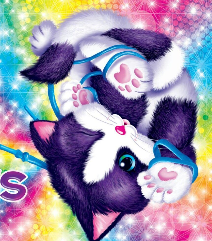 Lisa frank | lisa frank art | Pinterest | Todo sobre gatos, El ...