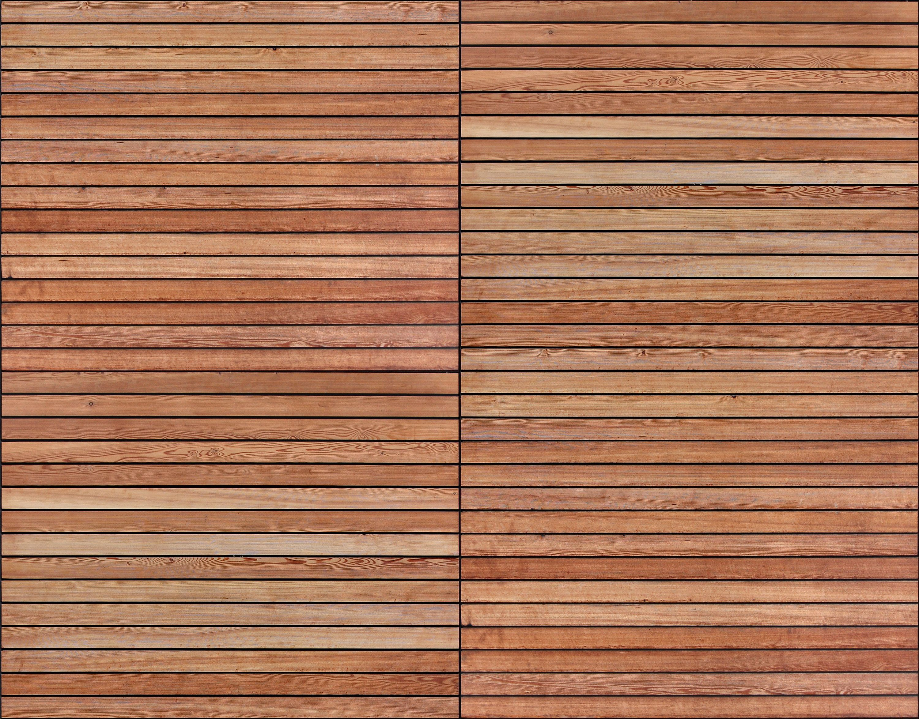 Horizontal timber boards seamless texture woods for External timber decking