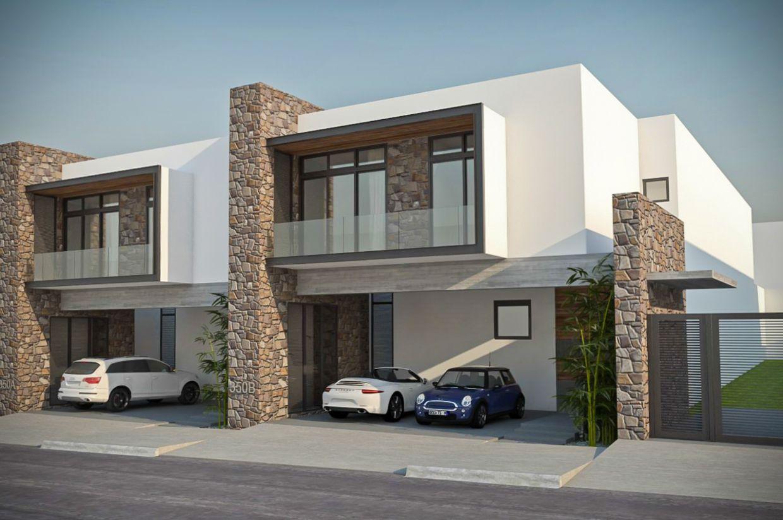 Proyectos de casas de 200 metros cuadrados dos plantas - Plantas de exterior ...